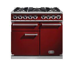 Piano de cuisson FALCON F1000DXDFRD/NM Mixte rouge