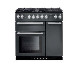 Piano de cuisson FALCON NEX90DFSL/C mixte 90 gris