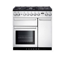 Piano de cuisson FALCON NEX90DFWH/C Mixte 90 blanc