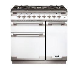 Piano de cuisson FALCON ELS90DFWH/-EU Mixte 90 blanc