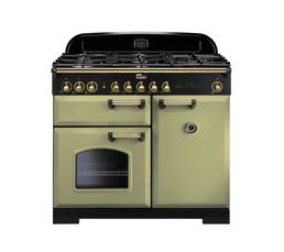 Piano de cuisson FALCON CDL100DFOG/B Mixte 100 vert