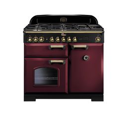 Piano de cuisson FALCON CDL100DFCY/B Mixte 100 rouge