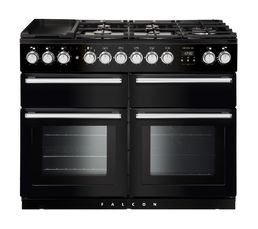 Piano de cuisson FALCON NEXSE110DFBL/C mixte 110 noir