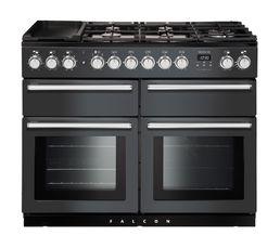 Piano de cuisson FALCON NEXSE110DFSL/C mixte 110 gris
