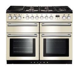 Piano de cuisson FALCON NEXSE110DFBL/C mixte crème