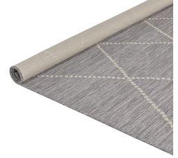 Tapis 160x230 cm CRISTAL gris