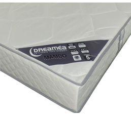 Matelas 140X190 cm DREAMEA MAMBO/SAMBA