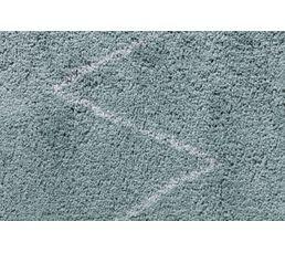 PISTACHE Tapis 120x170 cm Poils longs vert d'eau