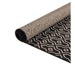 Tapis 80x200 cm MAROCO Noir