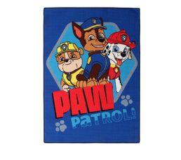 Tapis 95x133 cm PAW PATROL bleu
