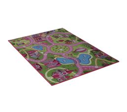 SWEET TOWN Tapis 95x133 cm multicolor