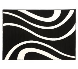 MIRAGE Tapis 115x160 cm Noir