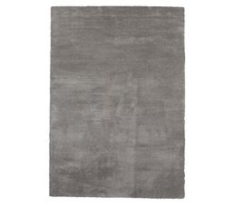 tapis 160x230 cm crystal gris tapis but. Black Bedroom Furniture Sets. Home Design Ideas