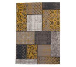 JAIPUR Tapis 160x230 cm jaune