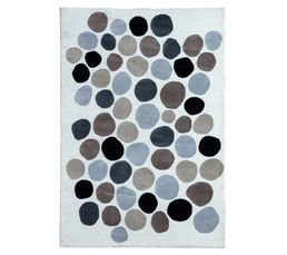 BUBBLE Tapis 160x230 cm Multicolore