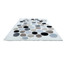 Tapis 160x230 cm BUBBLE Multicolore
