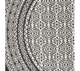 Tapis rond D.120 cm CHIRAZ Gris