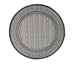 tapis rond cm chiraz gris tapis but. Black Bedroom Furniture Sets. Home Design Ideas