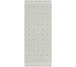 CHARM Tapis 80x200 Noir/blanc