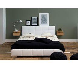 best chevet suspendu ashlan coloris chne with chevet suspendre. Black Bedroom Furniture Sets. Home Design Ideas