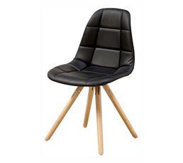 Chaise LINA 22236-31 noir