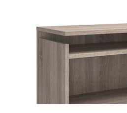 Tête de lit 140 cm avec rgt BEST chêne gris