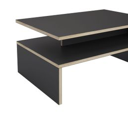 Table basse LAURA Gris/chêne