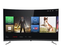 Téléviseur 4K 55'' 139 cm TCL 55DP672 LED Noir Incurvé