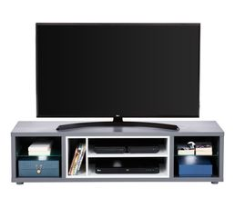 Meuble Tv Design Led Shades Gris Meubles Tv But # Promo Meuble Tv Taupe