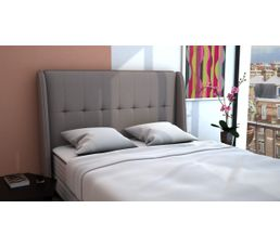 Tête de lit PU L.160 cm COCOONING TAUPE