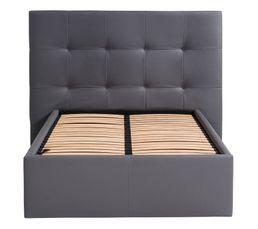 Tête de lit PU L.200 cm DREAM/HOME GRIS
