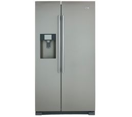 Volume utile total (l): 550 Froid : Ventilé Dégivrage automatique : Oui Réfrigérateur (l) : 375 Congélateur (l) : 175 Pouvoir de congélation (Kg) : 10kg/24h Autonomie (h) : 5 Distributeur eau et glaçons : Oui Clayettes : 4 en verre C.E. : 420 kWh/an Effic