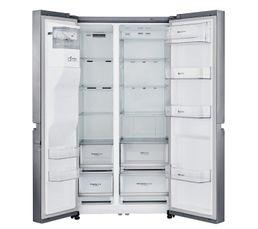Réfrigérateur américain LG GSL760PZUV Inox platine