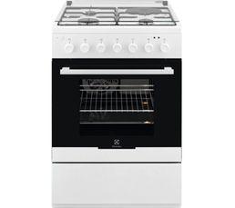 Cuisinière mixte ELECTROLUX EKM60300OW