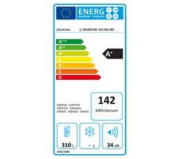 Réfrigérateur 1p intégrable ELECTROLUX KRS3DF18S 311L