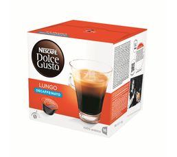 Dosette à café Dolce Gusto NESCAFE DOLCE GUSTO Lungo Décaffeinato x 16