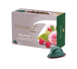 Dosettes à thé NESTLE SPECIAL T Thé vert Rose Amour