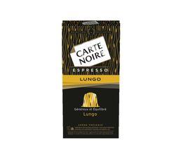 CARTE NOIRE Capsules à café Lungo