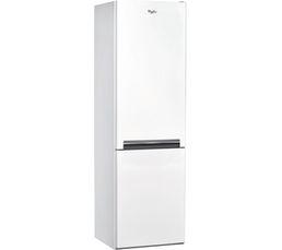 Système Total No Frost dans le réfrigérateur et dans le congélateur : condition optimum de préservation sans givre A+ = 20% d'économies par rapport à la classe A Volume utile total (l): 319 Dont congélateur (l): 97 Pouvoir de congélation (Kg) : 4 Autonomi
