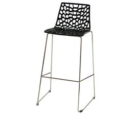 Tabouret de bar ABEILLE Noir - Tabourets BUT - Tabouret De Bar