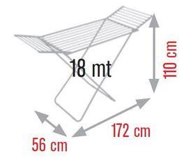 Etendoir MELICONI Lock CL Resin coated 18 m