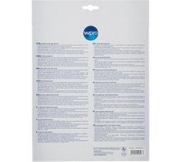 Filtre de hotte anti-odeur WPRO CHF303/1