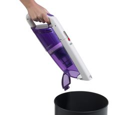 Aspirateur balai sans fil HOOVER FJ180 WV2 blanc/violet