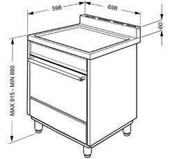 Cuisinière gaz SMEG C7GPX8