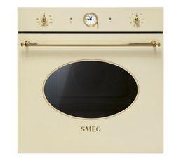 Four encastrable SMEG SFP805PO Crème