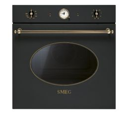 Four encastrable SMEG SFP805AO Coloniale Anthracite But