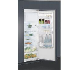 Volume utile total (l): 292 L Froid : Brassé Dégivrage : Réfrigérateur : automatique / Congélateur : manuel Dont compartiment congélateur : 30 L Clayettes : Verre Eclairage : LED Pouvoir de congélation (Kg) : 3kg/24h Autonomie (h) : 16h C.E. : 280 kWh/an