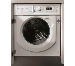 Lave linge hublot séchant INDESIT BIWDIL861484 Push&Go blanc