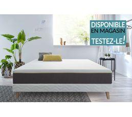 matelas roul en boite 140x190 cm izia mousse m moire de forme matelas but. Black Bedroom Furniture Sets. Home Design Ideas