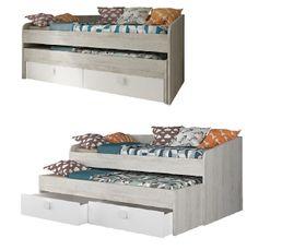 lit enfant lit gigogne et lit cabane pas cher. Black Bedroom Furniture Sets. Home Design Ideas